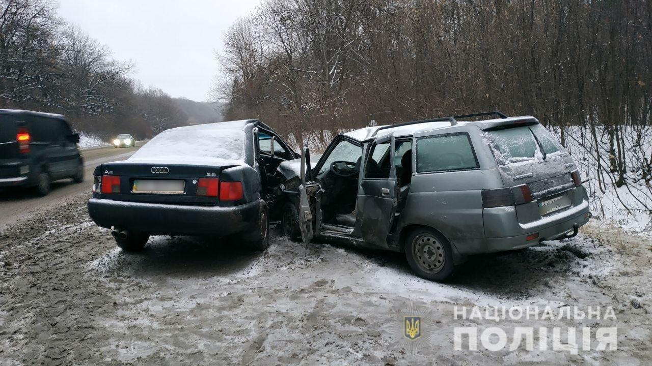 В ДТП на трассе под Харьковом пострадали пять человек, - ФОТО, фото-1