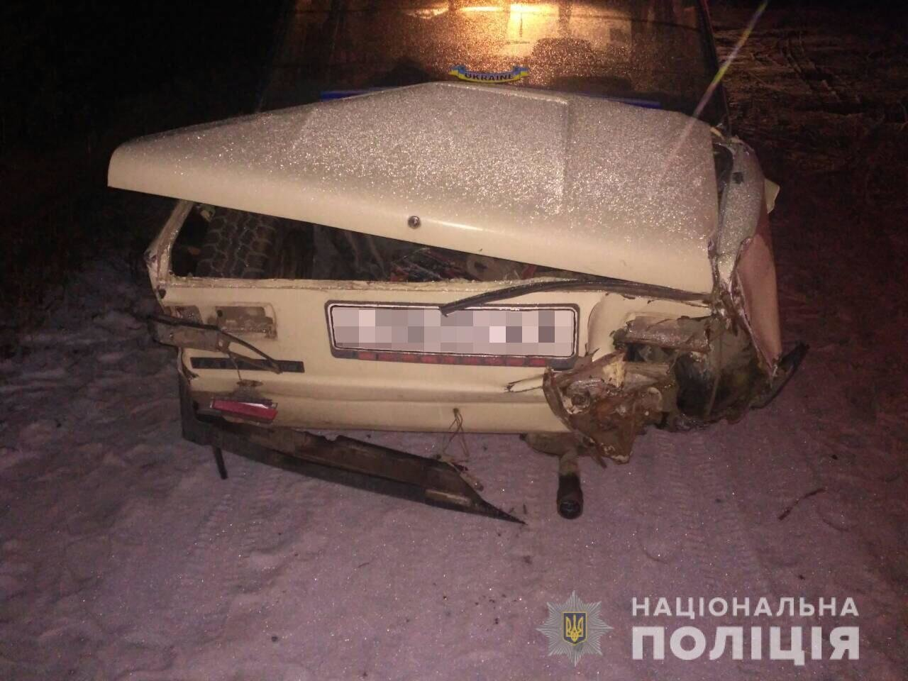 Угнал машину и устроил ДТП. Под Харьковом пьяный мужчина пытался сбежать с места аварии, - ФОТО , фото-3