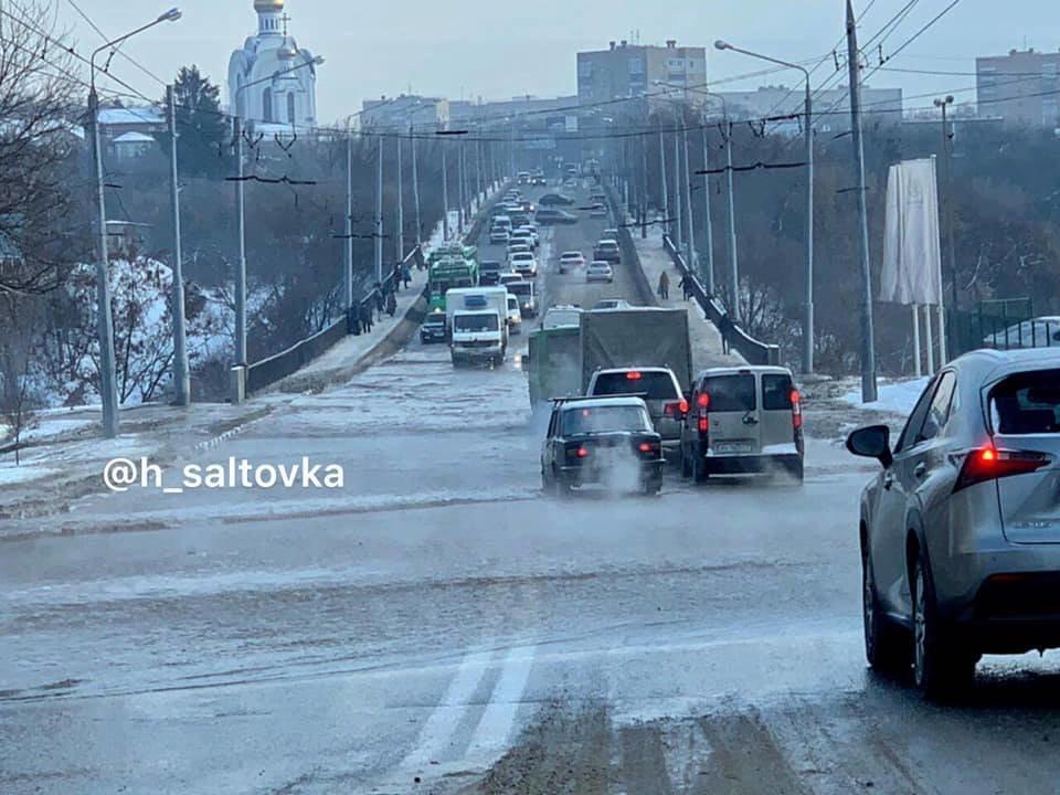 В Харькове устранили крупный прорыв водопровода, - ФОТО, фото-4