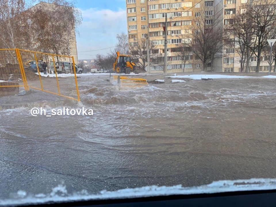 В Харькове устранили крупный прорыв водопровода, - ФОТО, фото-3