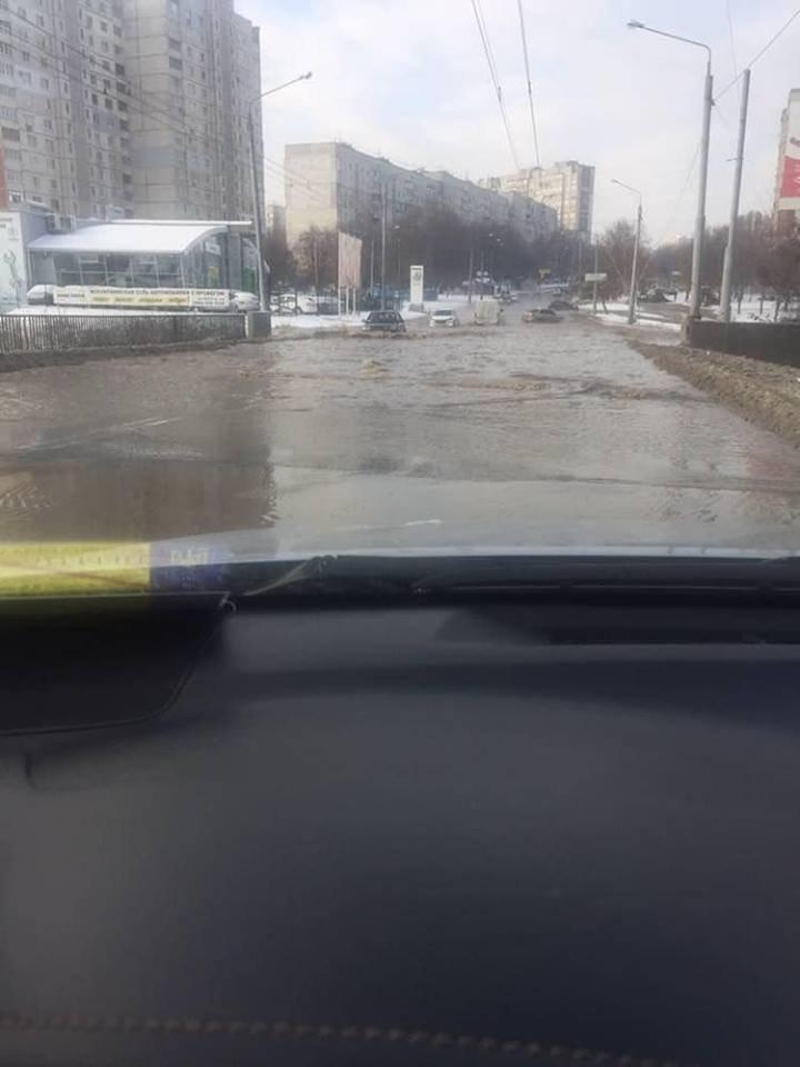В Харькове устранили крупный прорыв водопровода, - ФОТО, фото-1