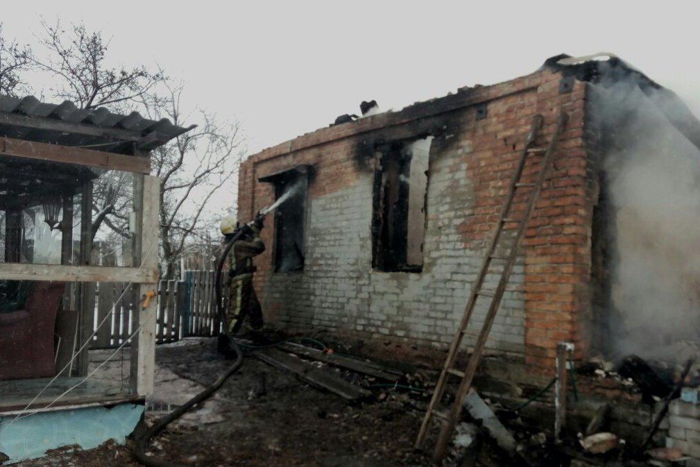 Под Харьковом в частном доме сгорела пенсионерка, - ФОТО , фото-2