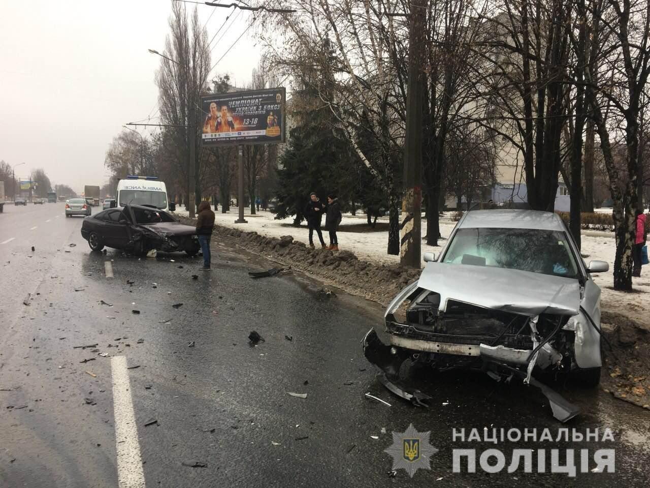 В Харькове столкнулись «Mazda» и «Audi». Есть пострадавшая, - ФОТО , фото-2