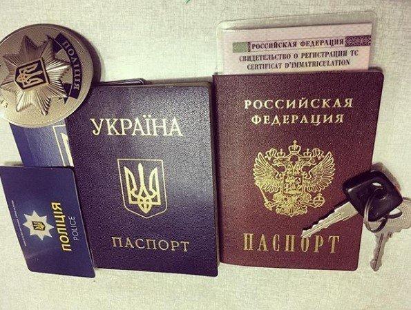 «Спасибо Путину, спасибо России»: Харьковский экс-патрульный, сбежавший от следствия, получил паспорт РФ, - ФОТО, фото-1