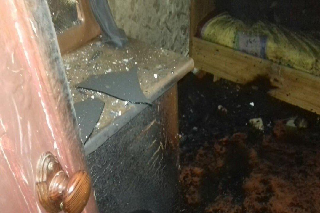В Харькове из-за сигареты загорелся дом. Погиб мужчина, - ФОТО , фото-2