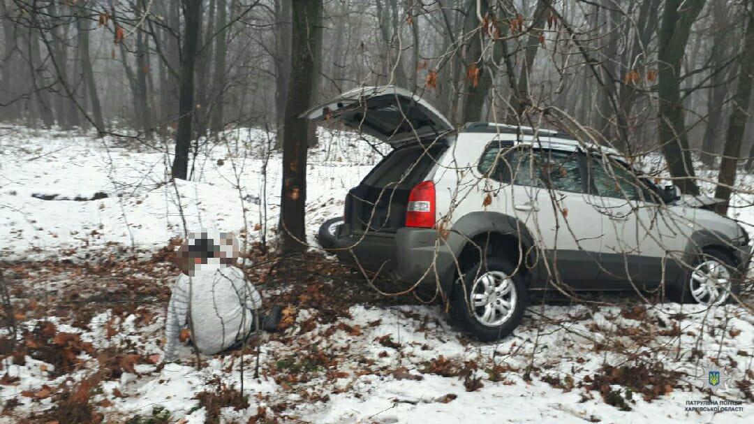 Под Харьковом пьяный водитель кроссовера выехал на встречную полосу и врезался в грузовик, - ФОТО, фото-2