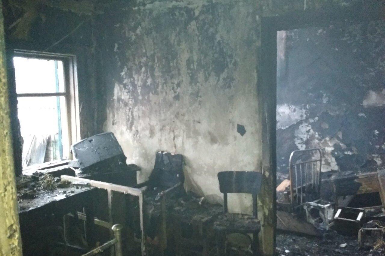 Под Харьковом в пожаре погибла пенсионерка, - ФОТО , фото-2