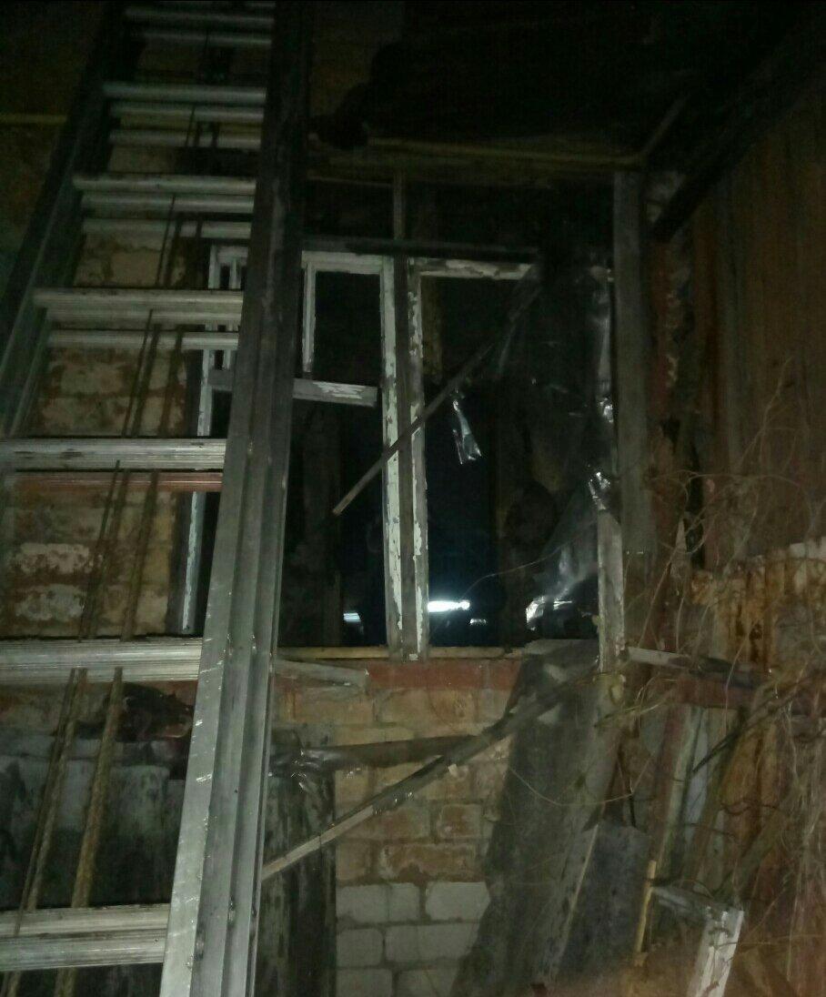 В Харькове сгорел частный дом. В пожаре погиб пенсионер, - ФОТО , фото-1