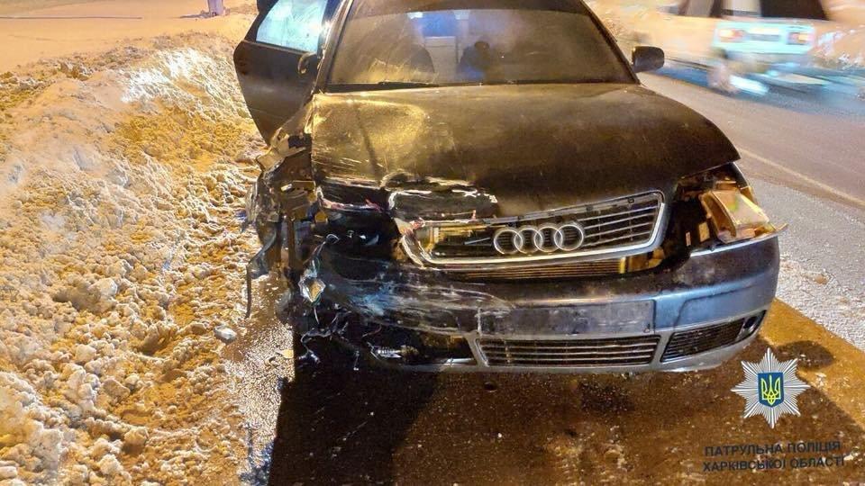 На ХТЗ столкнулись «Жигули» и «Audi». Пострадала женщина, - ФОТО, фото-2