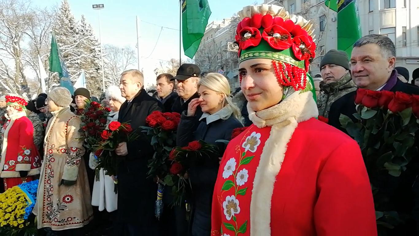 День Соборности Украины в Харькове: как жители отмечают столетие воссоединения, - ФОТО, ВИДЕО