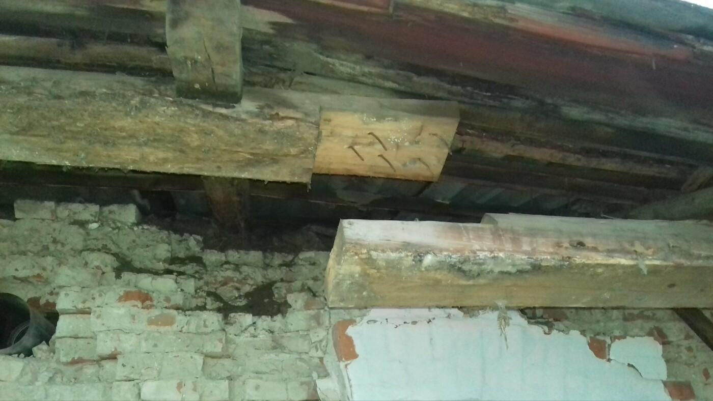 На Харьковщине рухнула крыша дома. Спасатели эвакуировали двенадцать человек, - ФОТО, фото-2