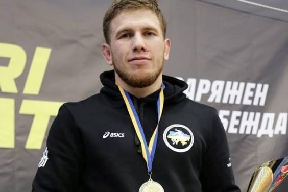 Харьковский спортсмен стал чемпионом Украины по греко-римской борьбе, фото-1