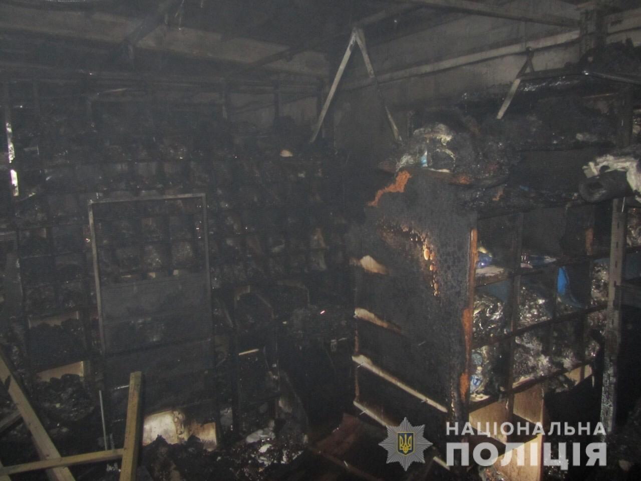 Пожар на швейных складах в Харькове. Неизвестные подожгли два помещения, - ФОТО, фото-5