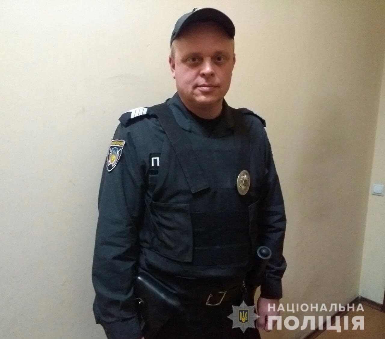 Харьковский полицейский спас пассажиров маршрутки от ДТП, - ФОТО, фото-2