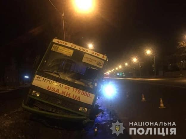 Харьковский полицейский спас пассажиров маршрутки от ДТП, - ФОТО, фото-1