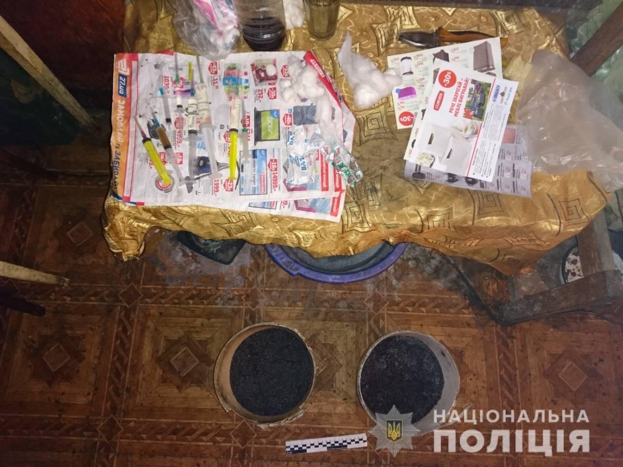 Под Харьковом полицейские обнаружили в частном доме 10 килограммов наркотиков, - ФОТО, фото-1