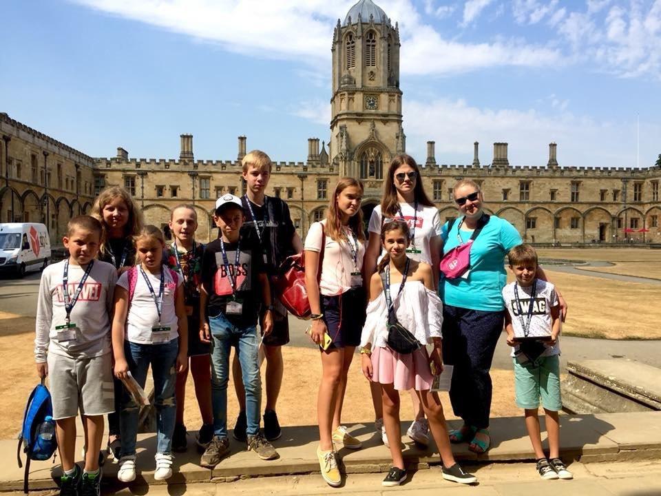 Larina Language Academy, летние каникулы в Англии