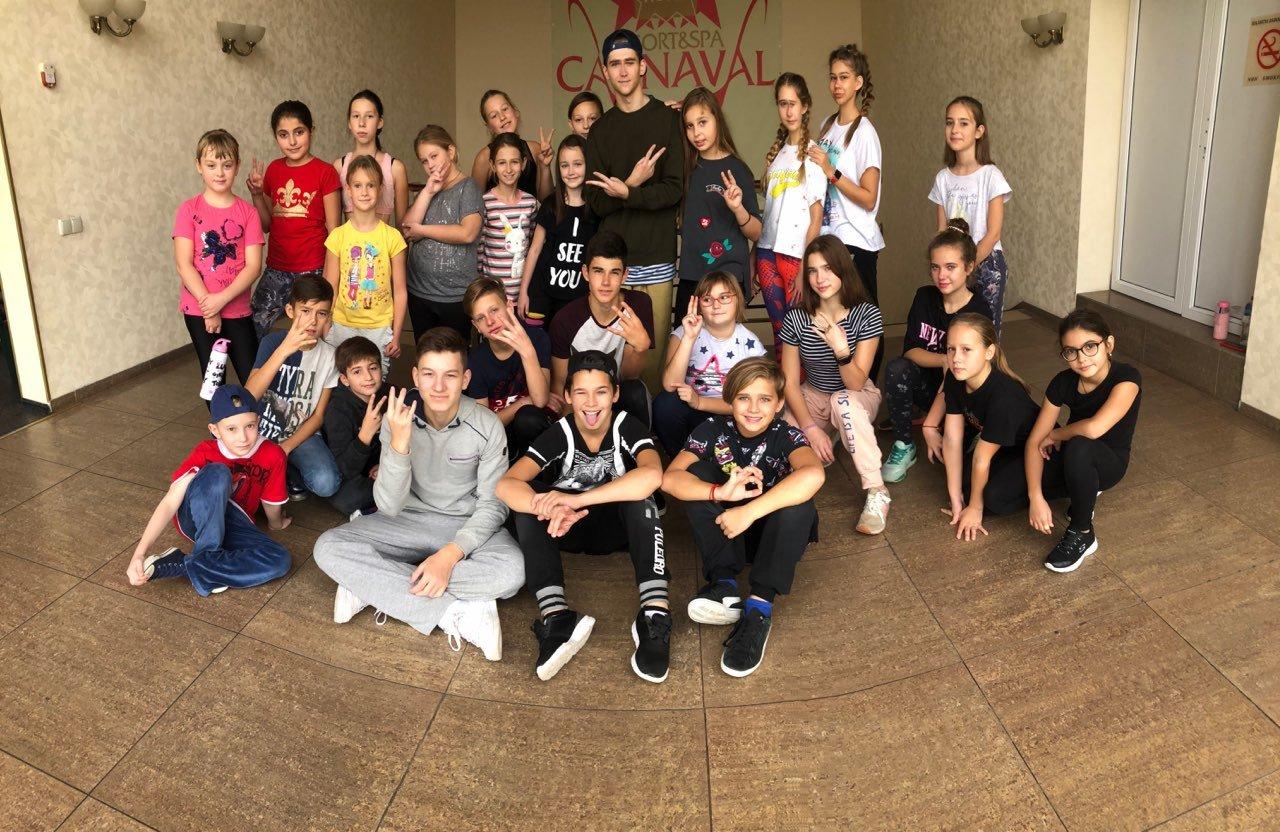 """Танцевальный лагерь в Харькове """"Crazy Dance Camp"""""""