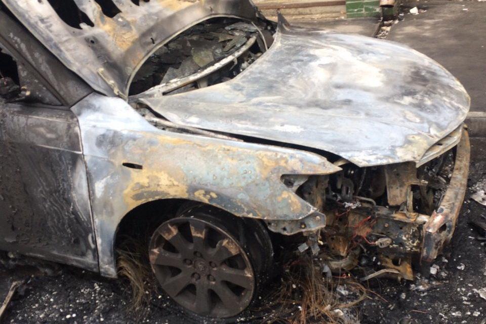 В Харькове ночью сгорела Toyota Camry, - ФОТО, фото-3