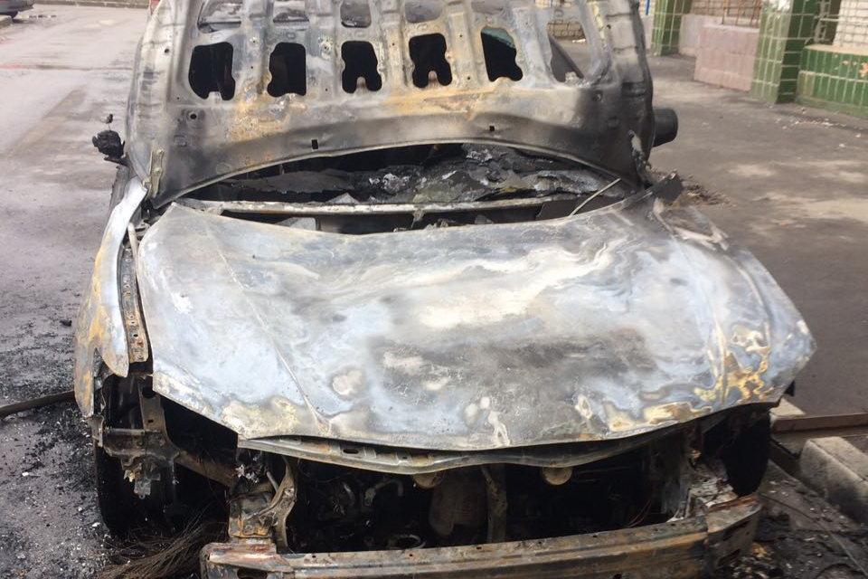 В Харькове ночью сгорела Toyota Camry, - ФОТО, фото-4