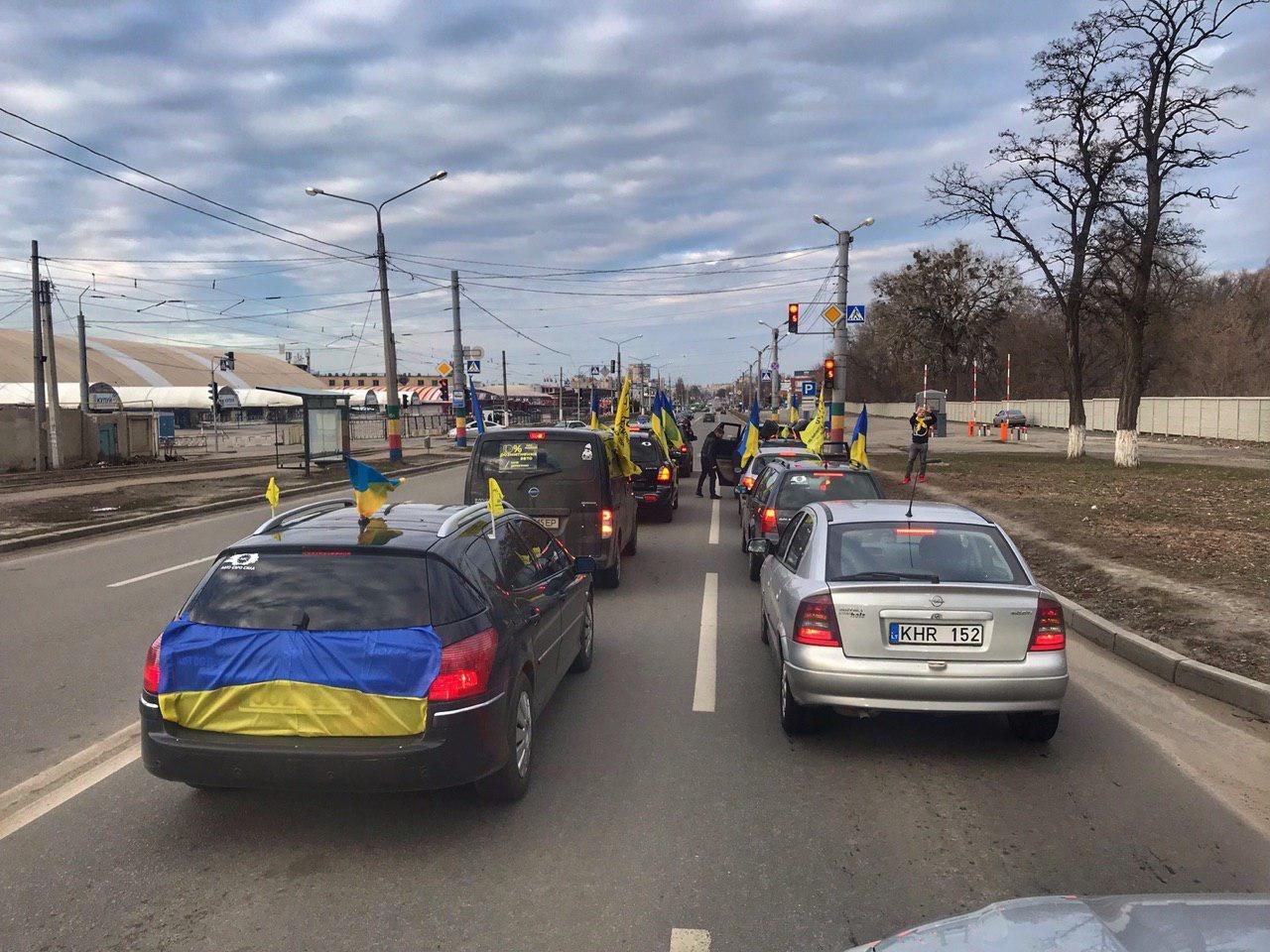 Кандидат в Президенти Дерев'янко підтримав автопробіг за доступні авто в Харкові (ФОТО, ВІДЕО), фото-2