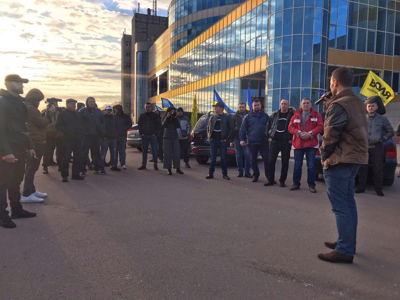 Кандидат в Президенти Дерев'янко підтримав автопробіг за доступні авто в Харкові (ФОТО, ВІДЕО), фото-4