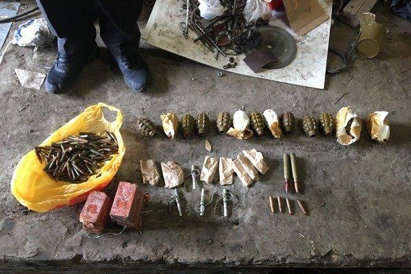 Боевые гранаты и взрывчатка. На Харьковщине мужчина хранил дома арсенал оружия, - ФОТО, фото-1
