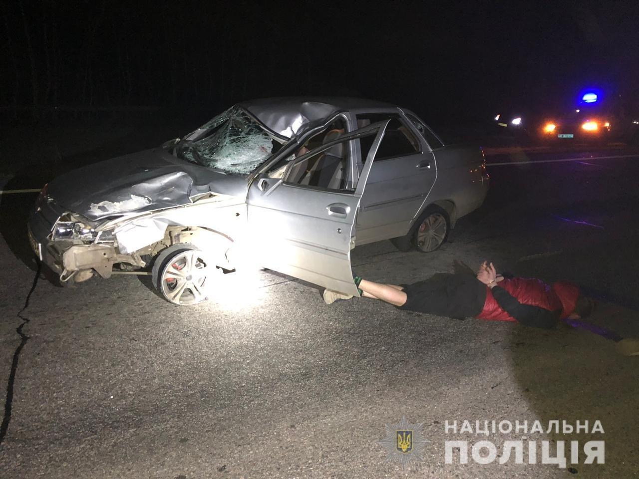 Погоня со стрельбой. Под Харьковом задержали водителя, сбившего насмерть пешехода, - ФОТО, фото-1