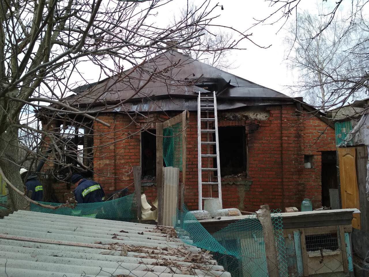 В Харьковской области бойцы ГСЧС спасли пенсионерку из горящего дома, - ФОТО, фото-2
