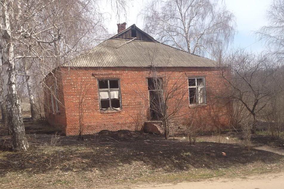 На Харьковщине в сгоревшей траве обнаружили труп мужчины, - ФОТО, фото-1