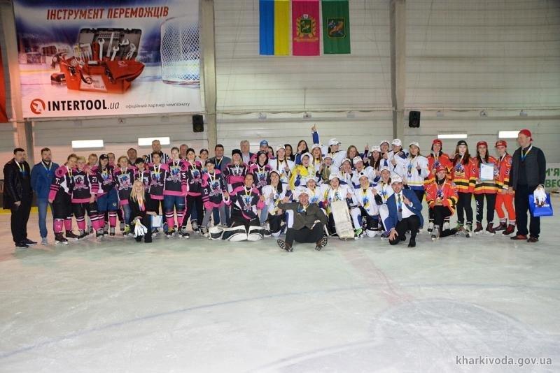 Харьковчанки стали серебряными призерами чемпионата Украины по хоккею, - ФОТО, фото-8
