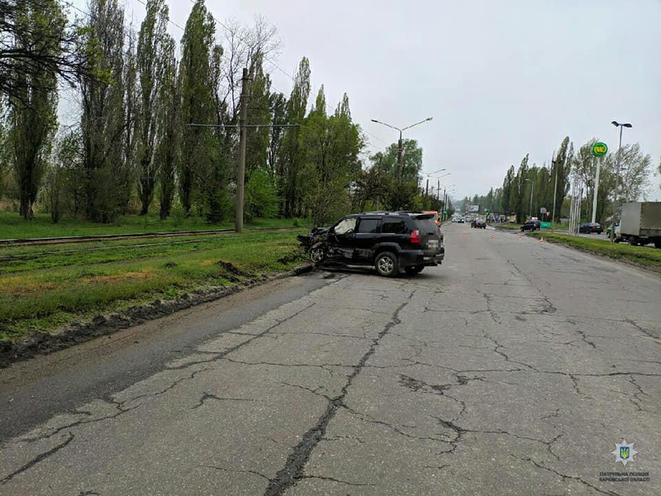 В Харькове столкнулись три автомобиля: пострадала женщина, - ФОТО, фото-1