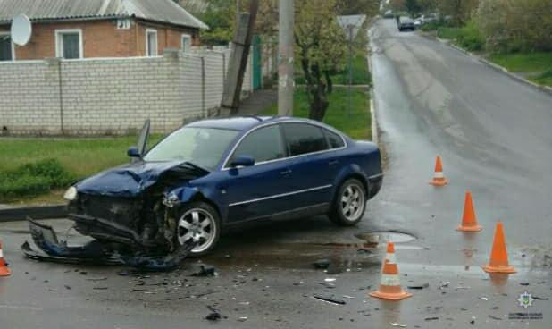 В Харькове не разминулись «Volskwagen» и «Daewoo», - ФОТО, фото-1