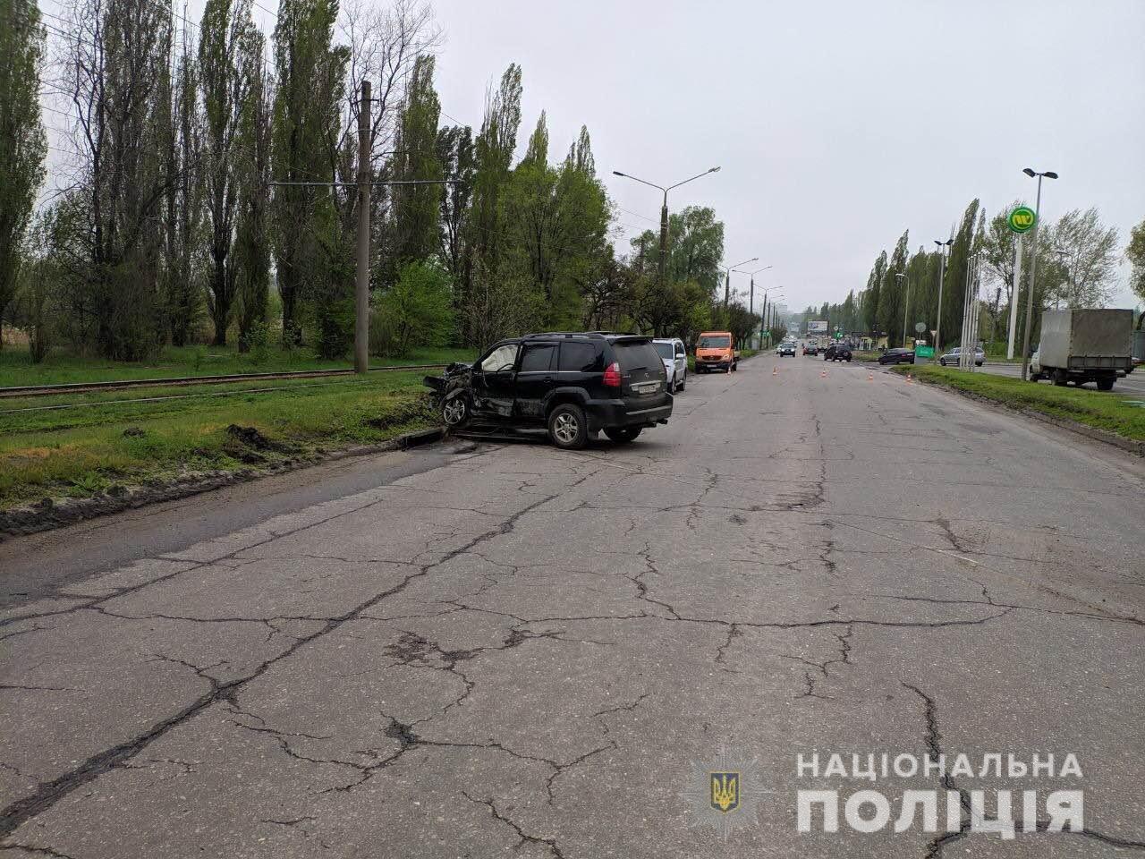 Тройное ДТП возле автозаправки: харьковские «копы» рассказали подробности, - ФОТО, фото-2