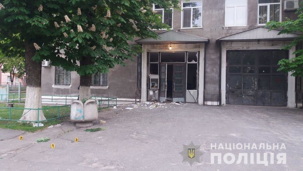 На Харьковщине неизвестные подорвали банкомат самодельной взрывчаткой, - ФОТО, фото-1