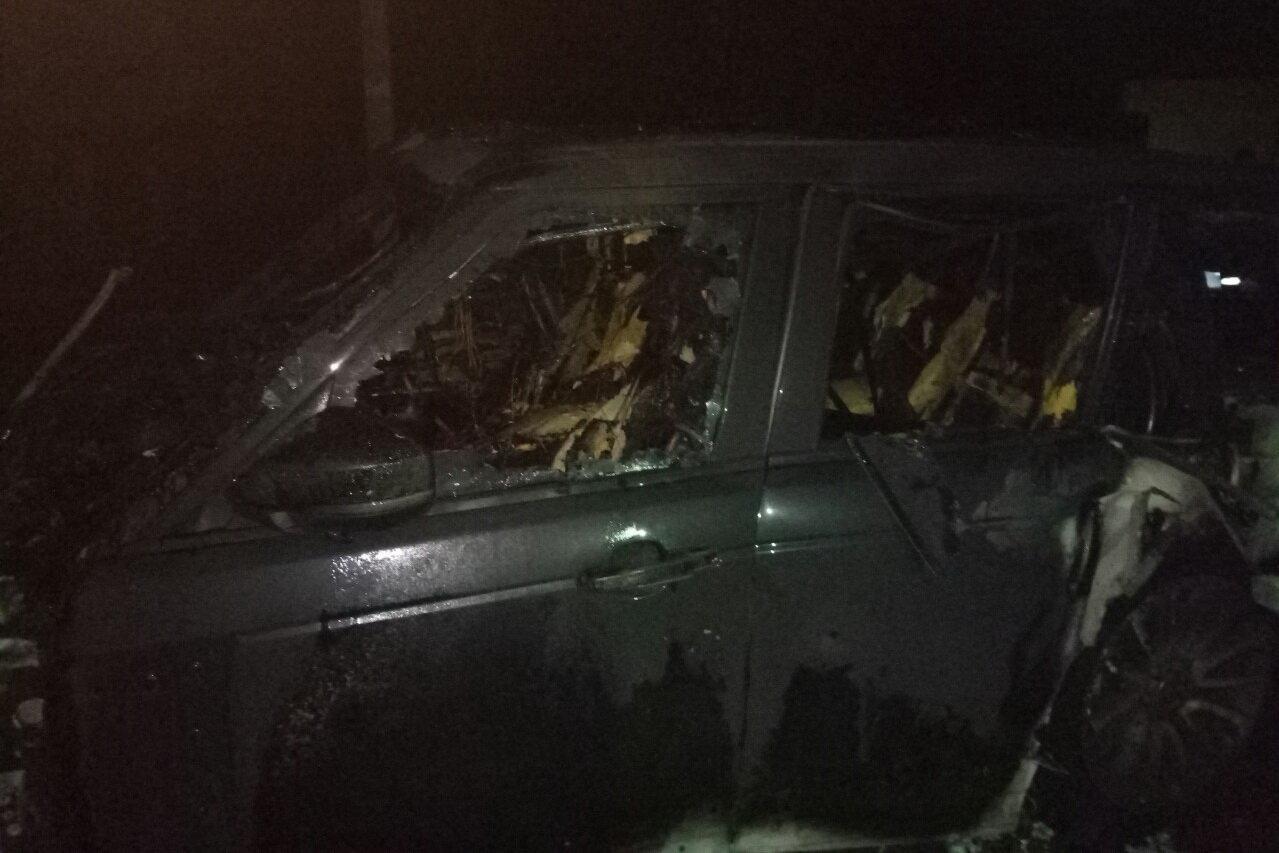 В Харькове подожгли «внедорожник» и «легковушку», - ФОТО, фото-1