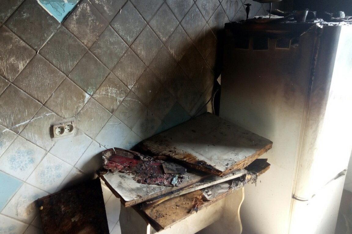 Оставил готовиться на плите еду и уснул: в Харькове погиб мужчина во время пожара, - ФОТО, фото-3