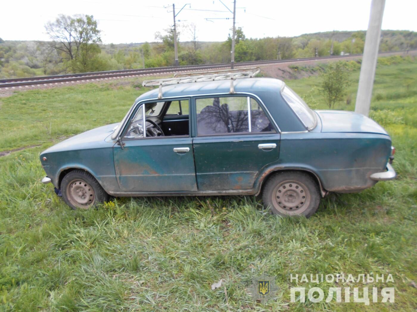 На Харьковщине пьяный мужчина угнал автомобиль, - ФОТО, фото-1