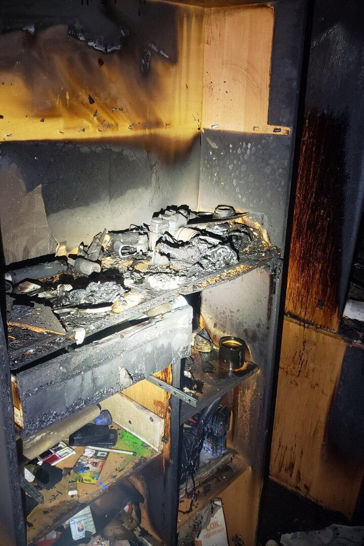 На Тракторостроителей горела квартира в «многоэтажке»: пожарные спасли пенсионерку, - ФОТО, фото-2