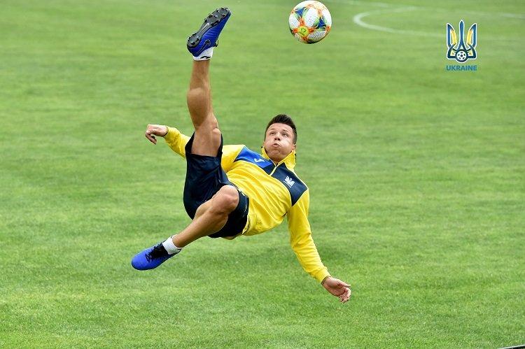 Сборная Украины по футболу провела тренировку в Харькове, - ФОТО, фото-1