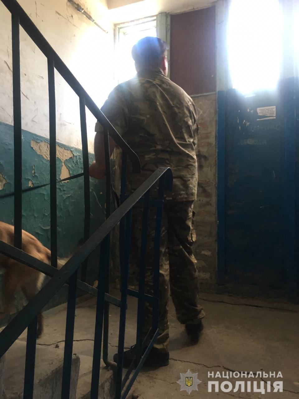 На Гончаровке неизвестный «заминировал» жилой дом, - ФОТО, фото-2