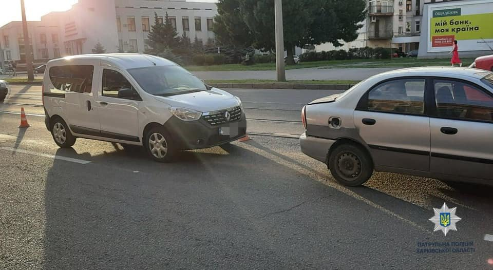 В Харькове не поделили дорогу три «легковушки», - ФОТО, фото-1