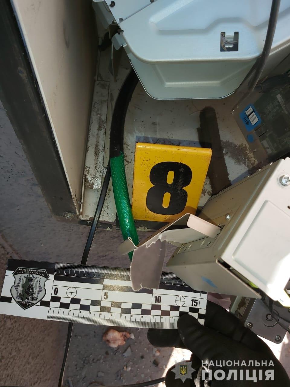 На Харьковщине неизвестные подорвали банкомат и унесли деньги, - ФОТО, фото-3