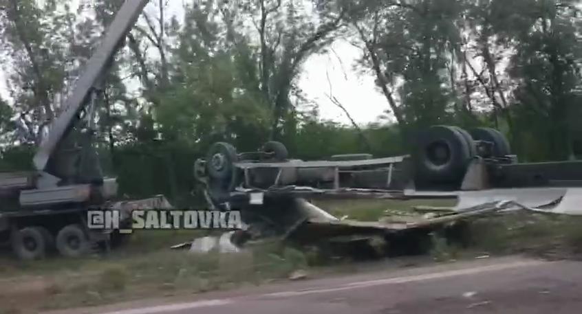 В Харьковской области автомобиль слетел в кювет и перевернулся. Есть погибший, - ФОТО, фото-1