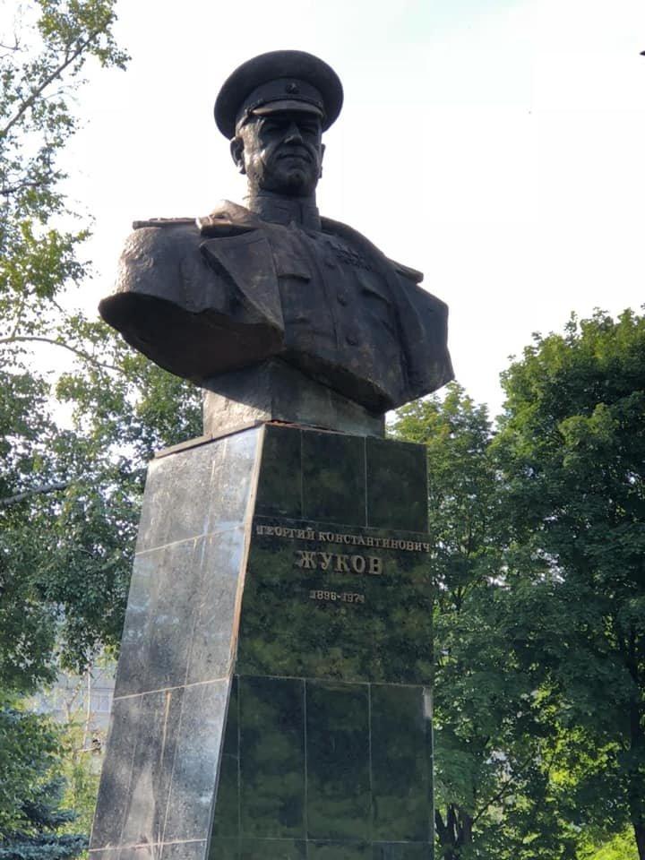 В Харькове восстановили памятник маршала Жукова, - ФОТО, фото-1