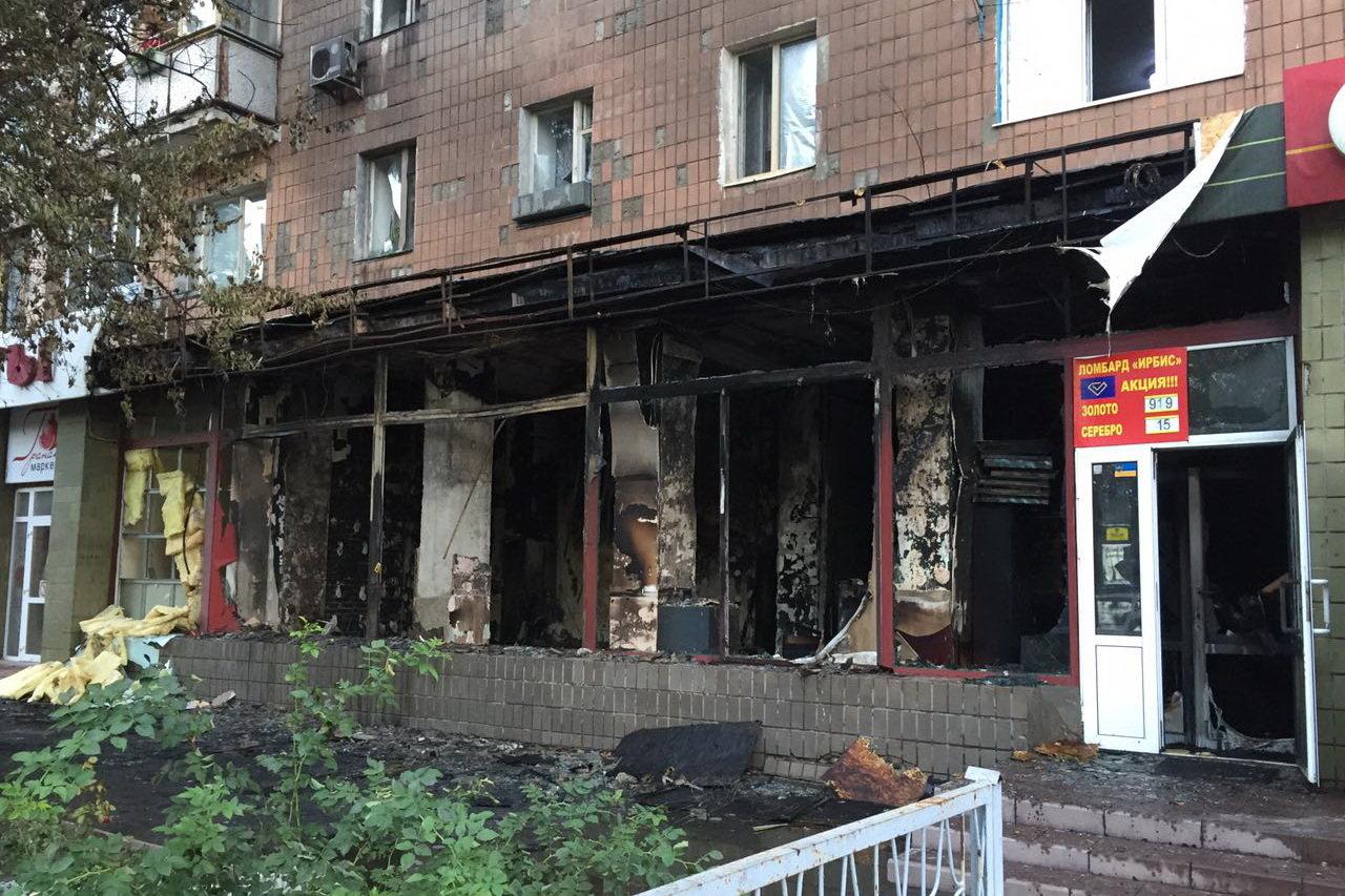 В Харькове сгорел магазин ритуальных услуг: спасатели эвакуировали 43 человека, - ФОТО, фото-2
