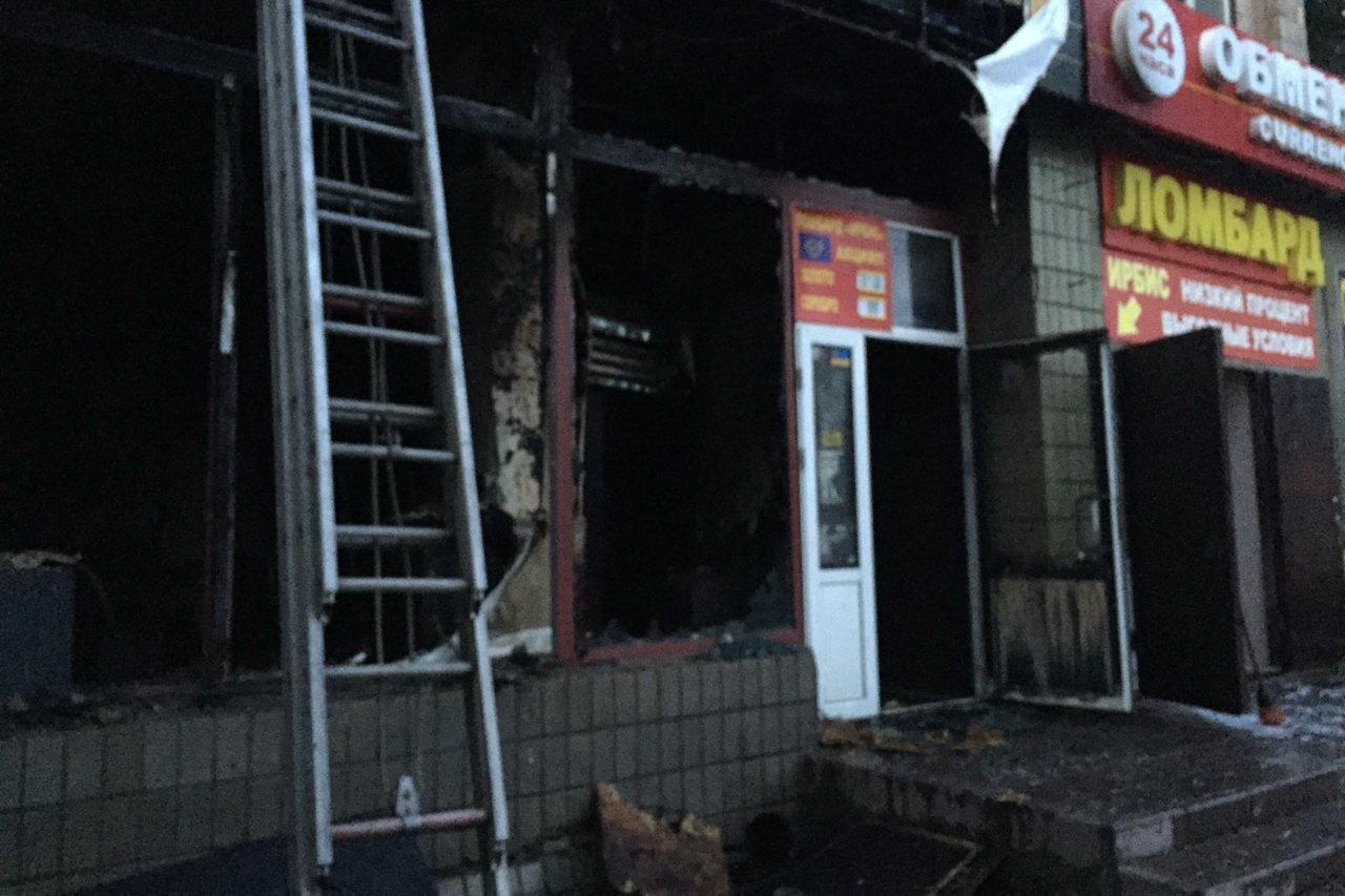 В Харькове сгорел магазин ритуальных услуг: спасатели эвакуировали 43 человека, - ФОТО, фото-4