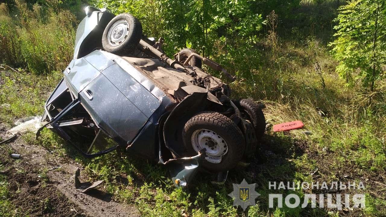 На Харьковщине тягач «разнес» легковой автомобиль: в смятой «легковушке» погибли несколько человек, - ФОТО, фото-1
