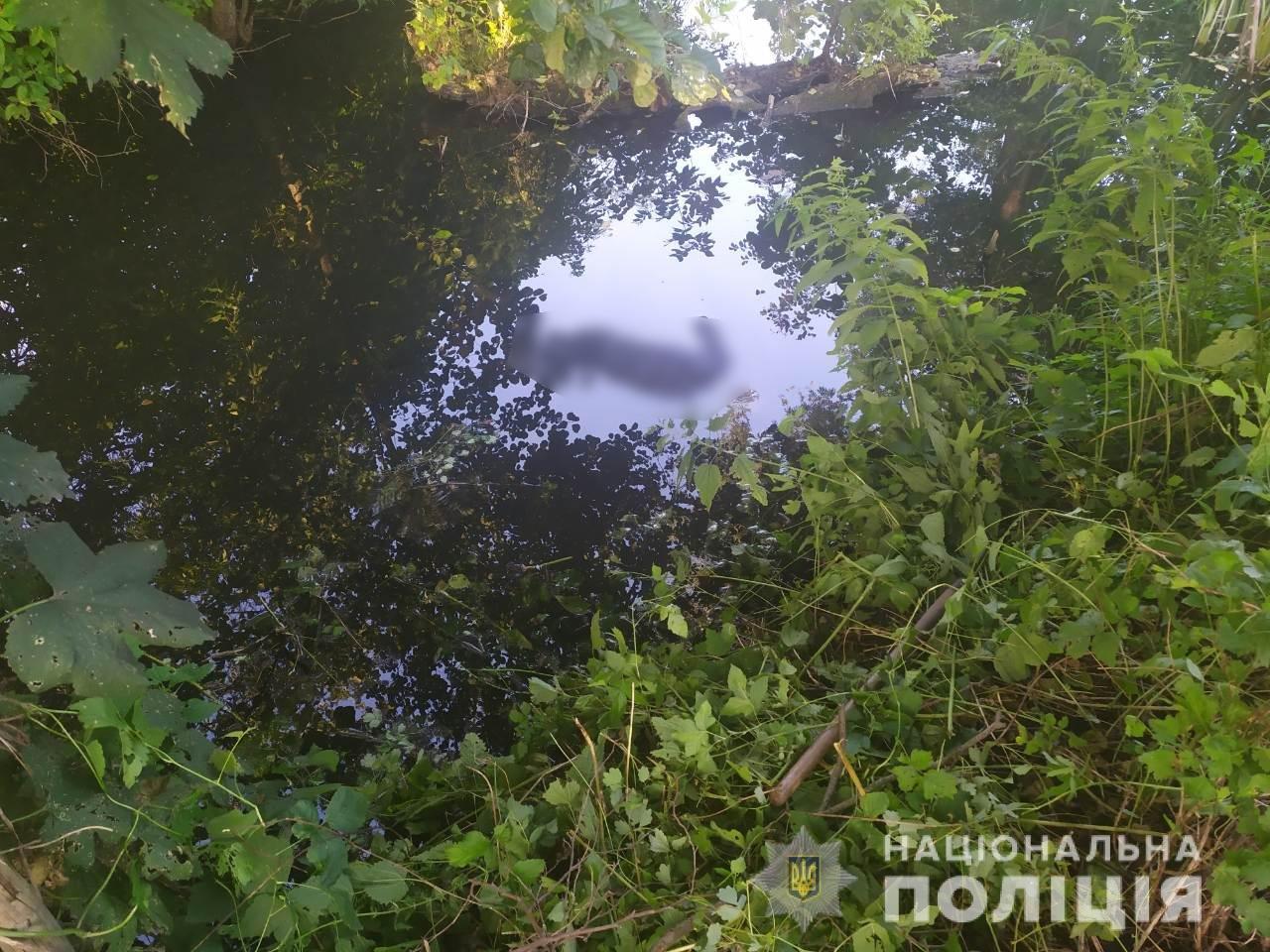 Упал в реку и не смог выбраться: под Харьковом утонул пенсионер, - ФОТО, фото-1