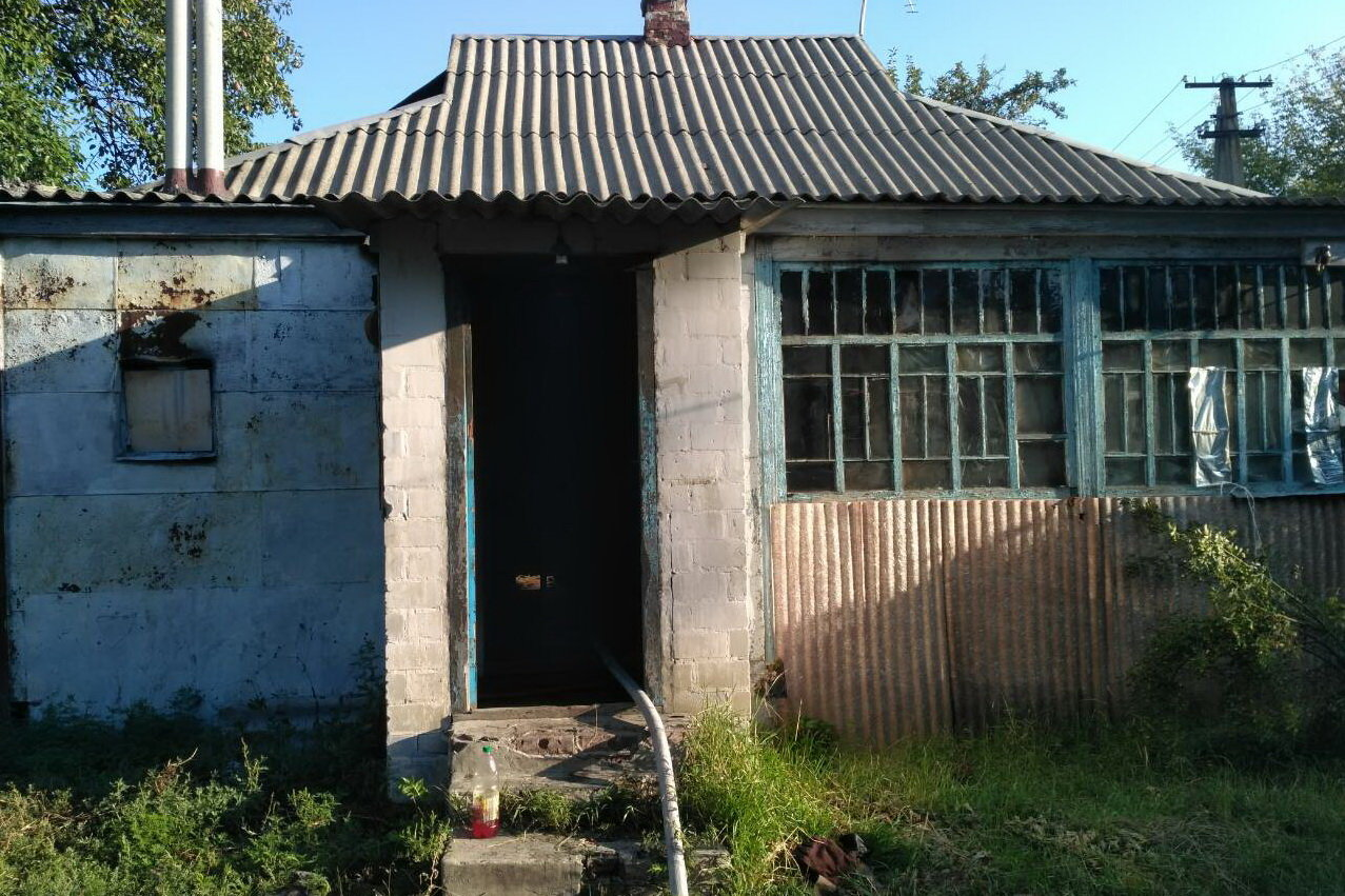 Под Харьковом загорелся частный дом: спасатели нашли труп женщины, - ФОТО, фото-4